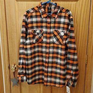 Blue Geare Men's NWT flannrl Shirt. 2XL